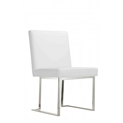 Silver Dexter Side Chair
