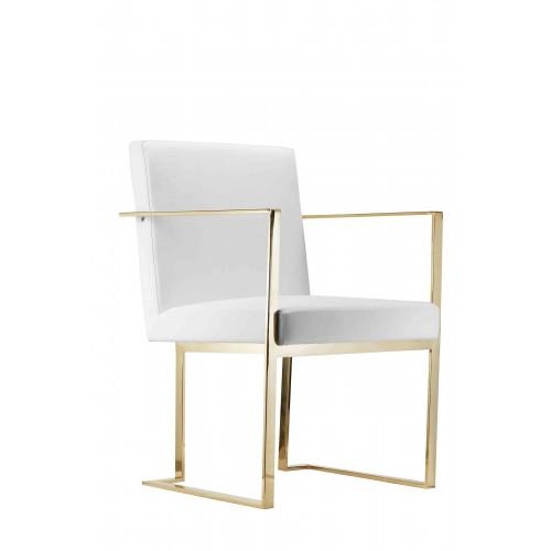 Gold Dexter Arm Chair