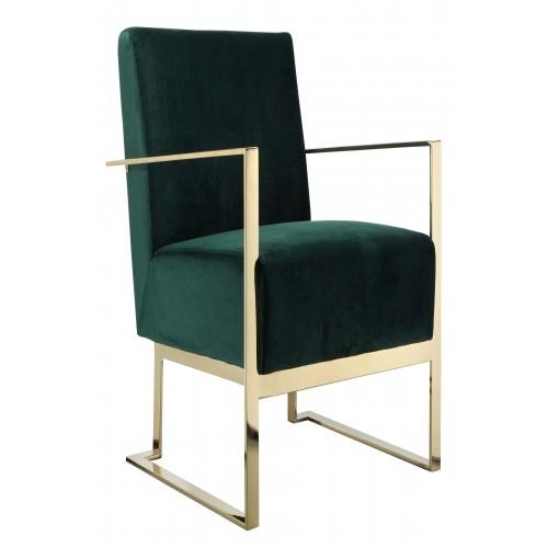 Gold Dexter Lounge Chair