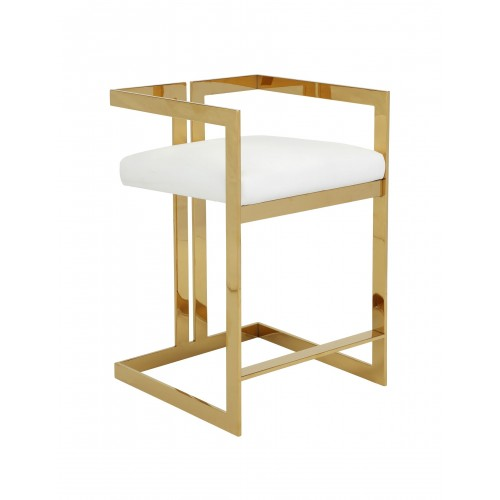 Gold Kenzie Counter Stool