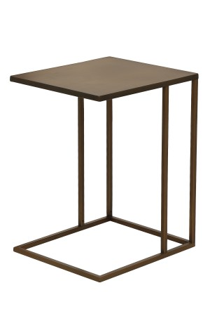 Dash Side Table Brass