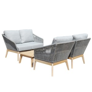 Diego 4 Piece Sofa Set