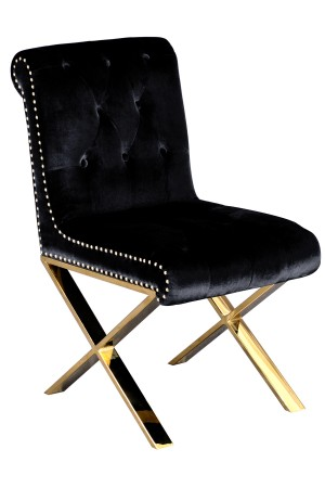 Gold Claire Dining Chair