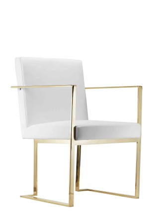 Gold Dexter Arm Chair
