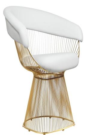 Gold Fern Chair
