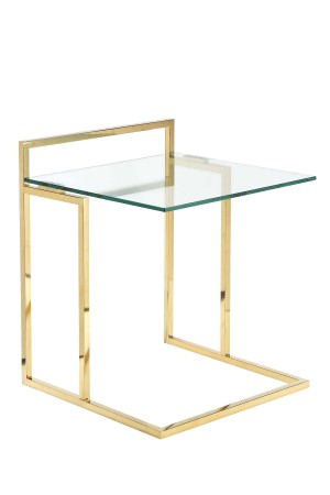 Gold Helen Tray Table