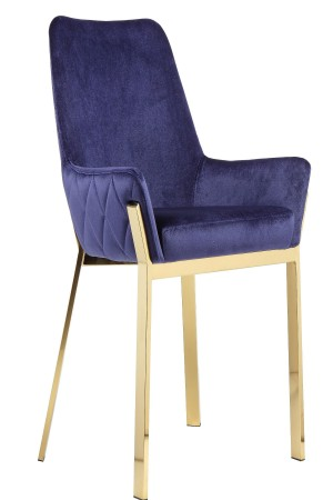 Gold Hudson Dining Chair