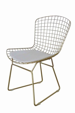 Gold Shuttle Dining Chair