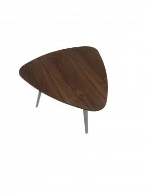 Hal Accent Table Veneer Walnut