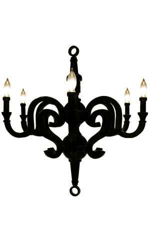 Kristina Chandelier Small 28""
