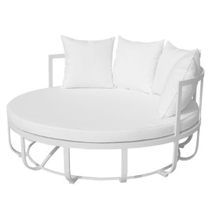 Naples Daybed White