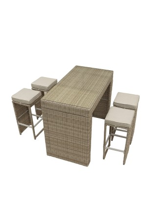 Oasis 5 Piece Bar Set