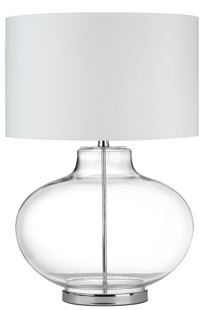 Rhonda Table Lamp White