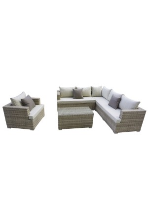 Oasis 5 Sectional Beige