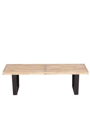 Slat 4 ft Bench