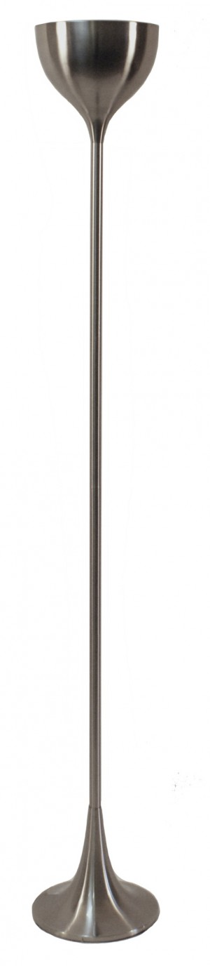 Victoria Floor Lamp Brushed Metal