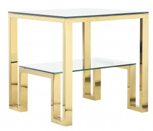 Laurence Side Table Gold
