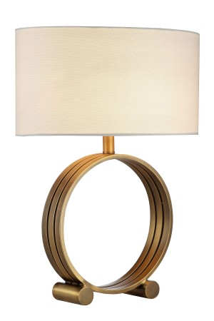 Alli Table Lamp Brass