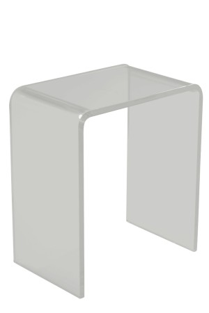 Arc Side Table Clear