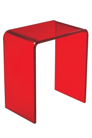 Arc Side Table Red