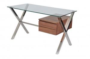 Beverly Desk Small Walnut