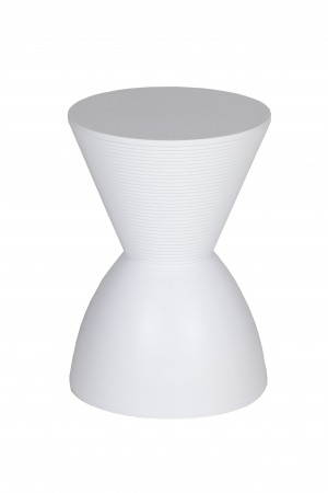 Bongo Side Table White