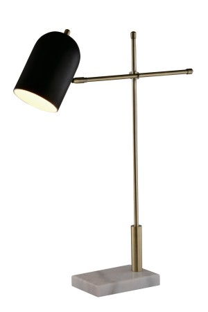 Carol Table Lamp White