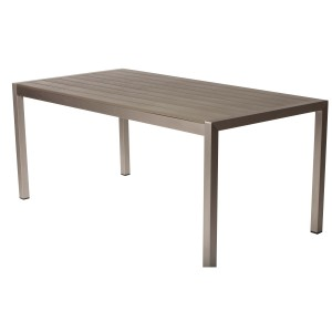 "David Dining Table 71"" Gray"