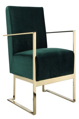 Gold Dexter Lounge Chair
