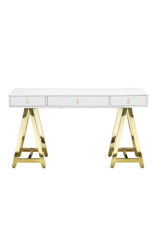 Gold Riley Desk
