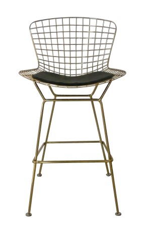 Gold Shuttle Bar Stool