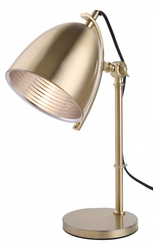 Holly Task Lamp Gold