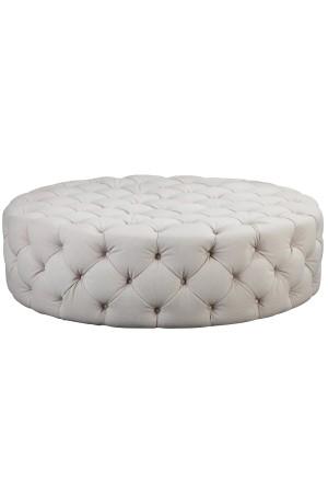 Jasper Round Ottoman