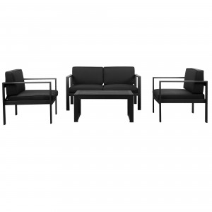 Karen Sofa Set Black