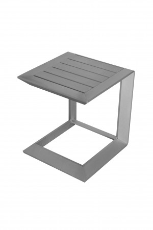 Leaf Side Table Aluminum