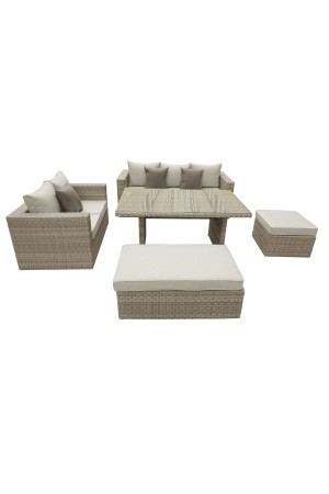 Oasis 5 Piece Sofa Dining Set