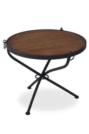 Robin Side Table Dark Gray
