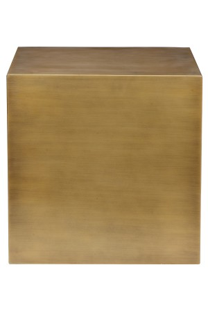 Spencer Side Table Brass- 20""