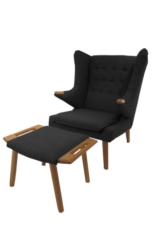 Yogi Chair and Ottoman Set