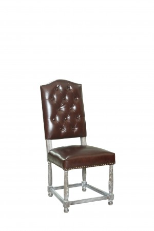 Michael Dining Chair Whiskey PU